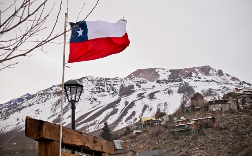 Neve no Valle Nevado – Chile